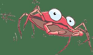 krab-rood